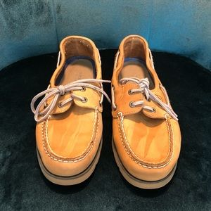 Men's Sperry Top-Sider Suede Boat Shoes Size 9